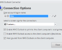 WHS Outlook Connection Options (WHS Outlook Connector)